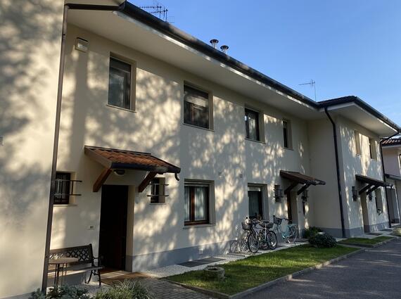 Villa a schiera centrale negli interni di Via Marsala