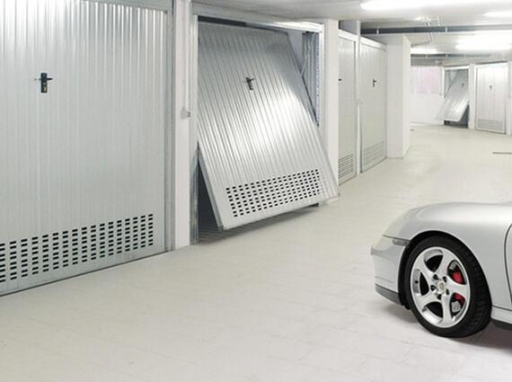 Garage in centro città