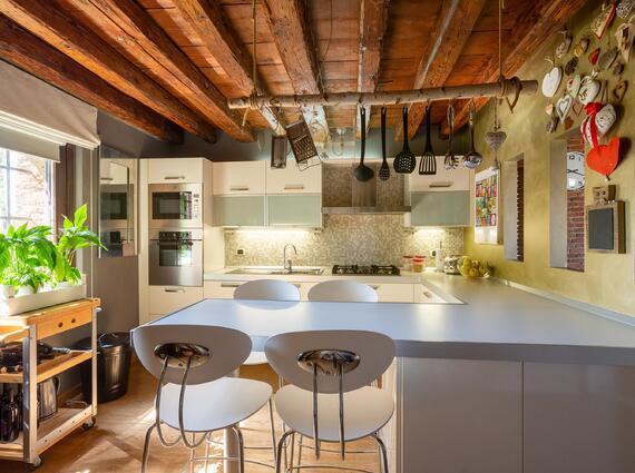Appartamento in recupero tipologico - periferia ovest di Udine